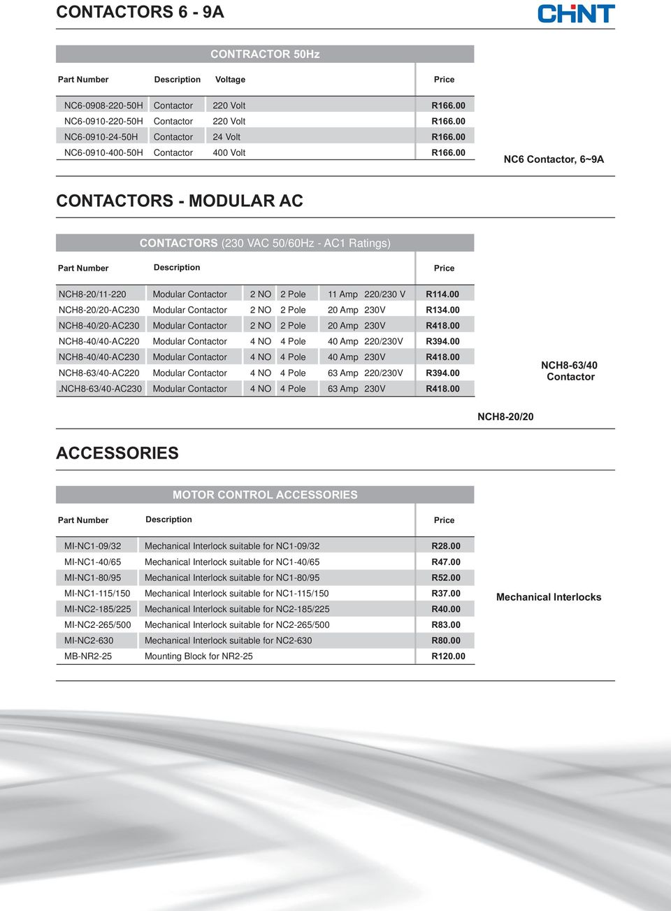 Ced Consolidated Electrical Distributor Pdf 220 Amp 22 Fuses Breaker Box 00 Nch8 20 Ac230 Modular Contactor 2 No Pole