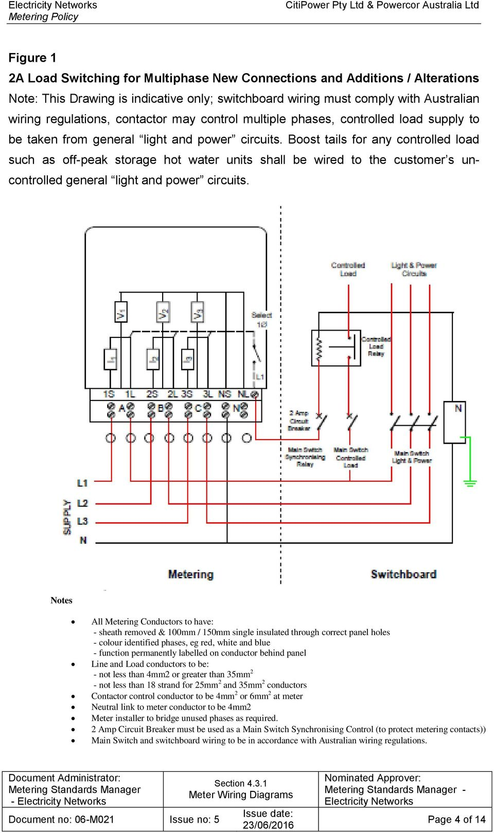 431 Bau Meter Wiring Diagrams Pdf Dedicated Circuits For Electrical In Home Http Boost Tails Any Controlled Load Such As Off Peak Storage Hot Water Units Shall