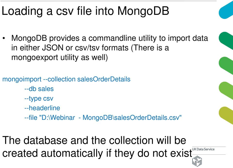 What is MongoDB? The webinar will begin at 3pm - PDF