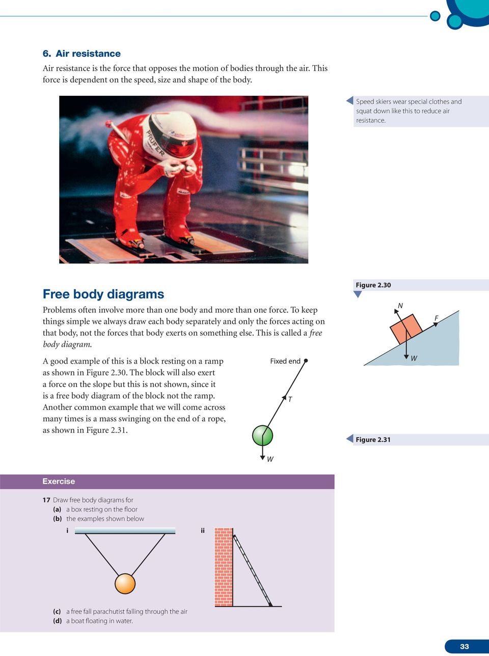2 Mechanics Kinematics Displacement And Distance Pdf Body Diagram Example To Keep Things Simple We Always Draw Each Separately Only The Forces Acting On