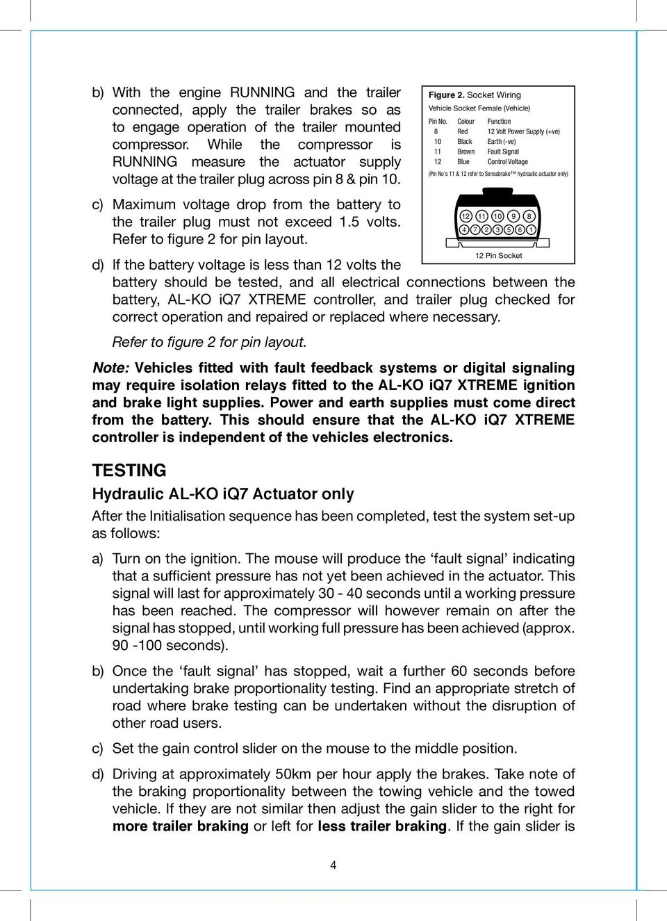 Iq7 Xtreme In Car Kit Installation Amp Operating Instructions