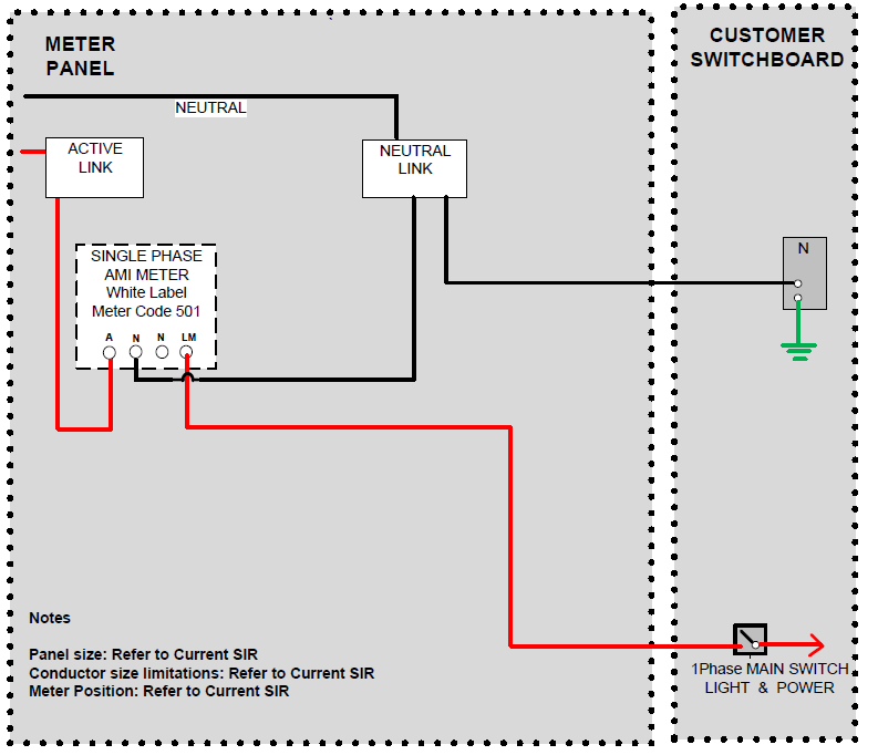 6 meter configuration and wiring diagrams 6