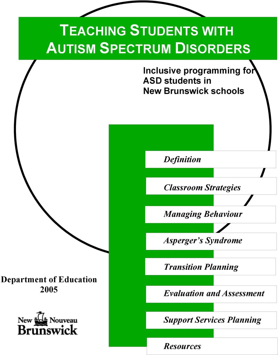 TEACHING STUDENTS WITH AUTISM SPECTRUM DISORDERS - PDF