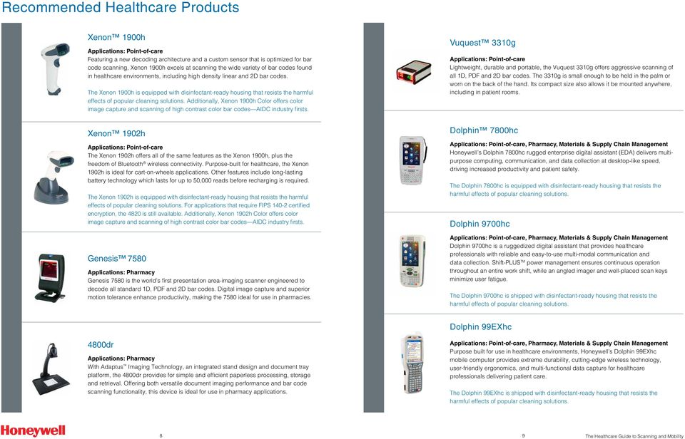 Healthcare Professional s Guide to Scanning and Mobility