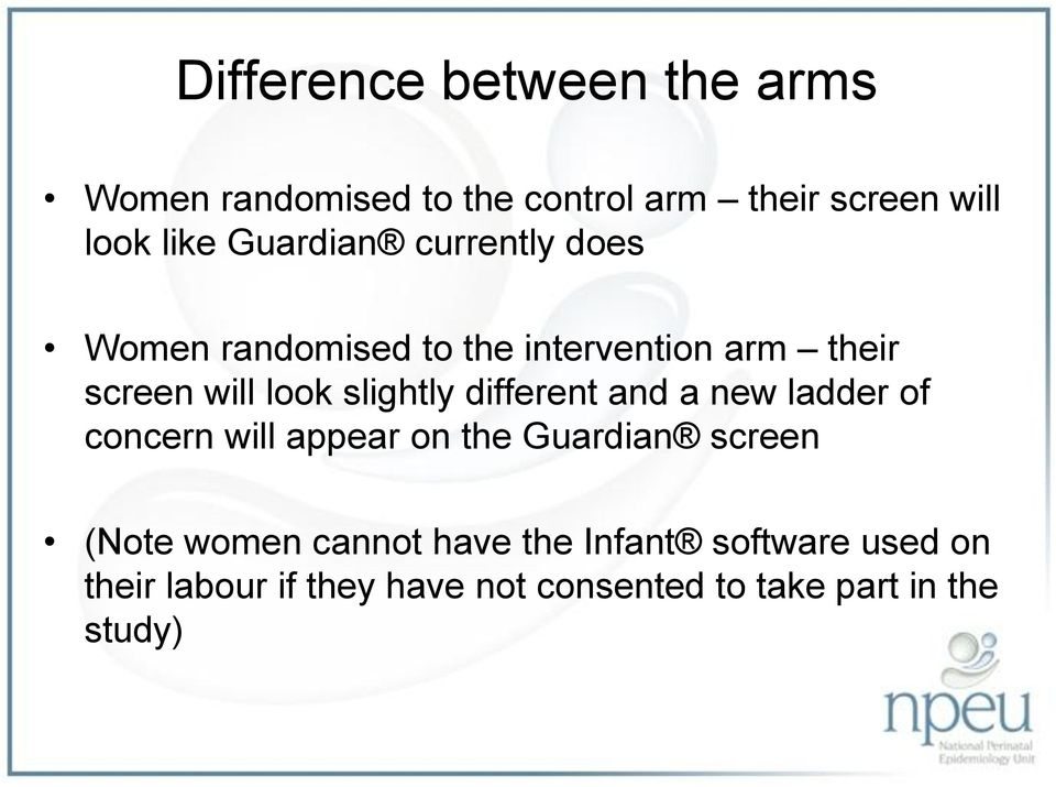 slightly different and a new ladder of concern will appear on the Guardian screen (Note women