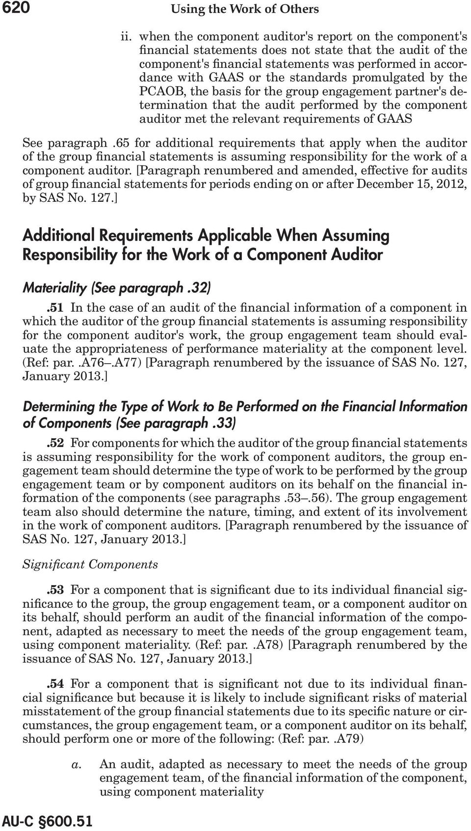 Special Considerations Audits of Group Financial Statements