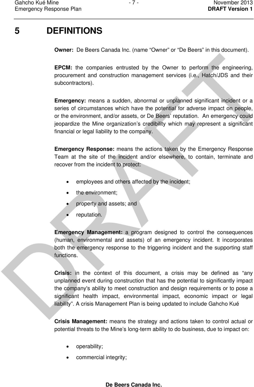 Attachment 16  Emergency Response Plan - PDF