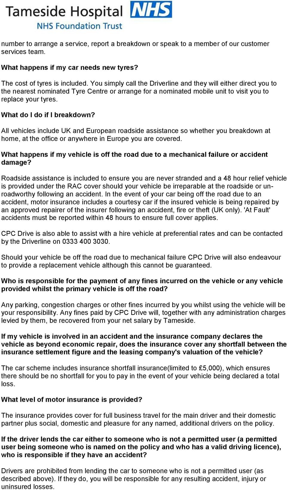 Faqs. Efits; the car scheme and how it works. Introduction pdf.
