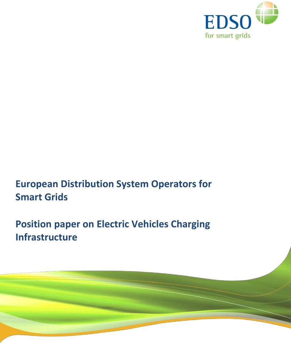 Position paper on Electric