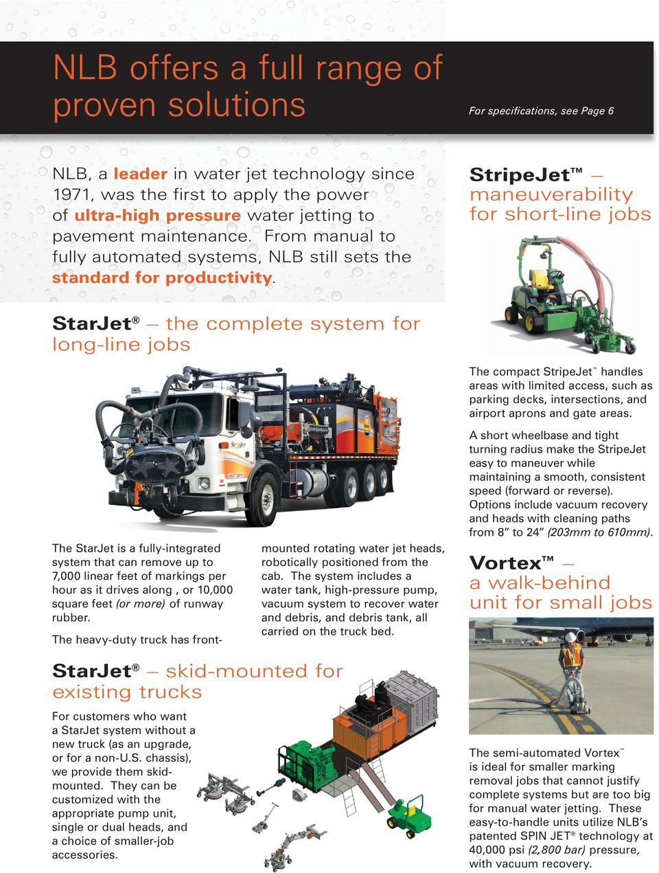 Water Jet Solutions for Removing Pavement Marking and Runway