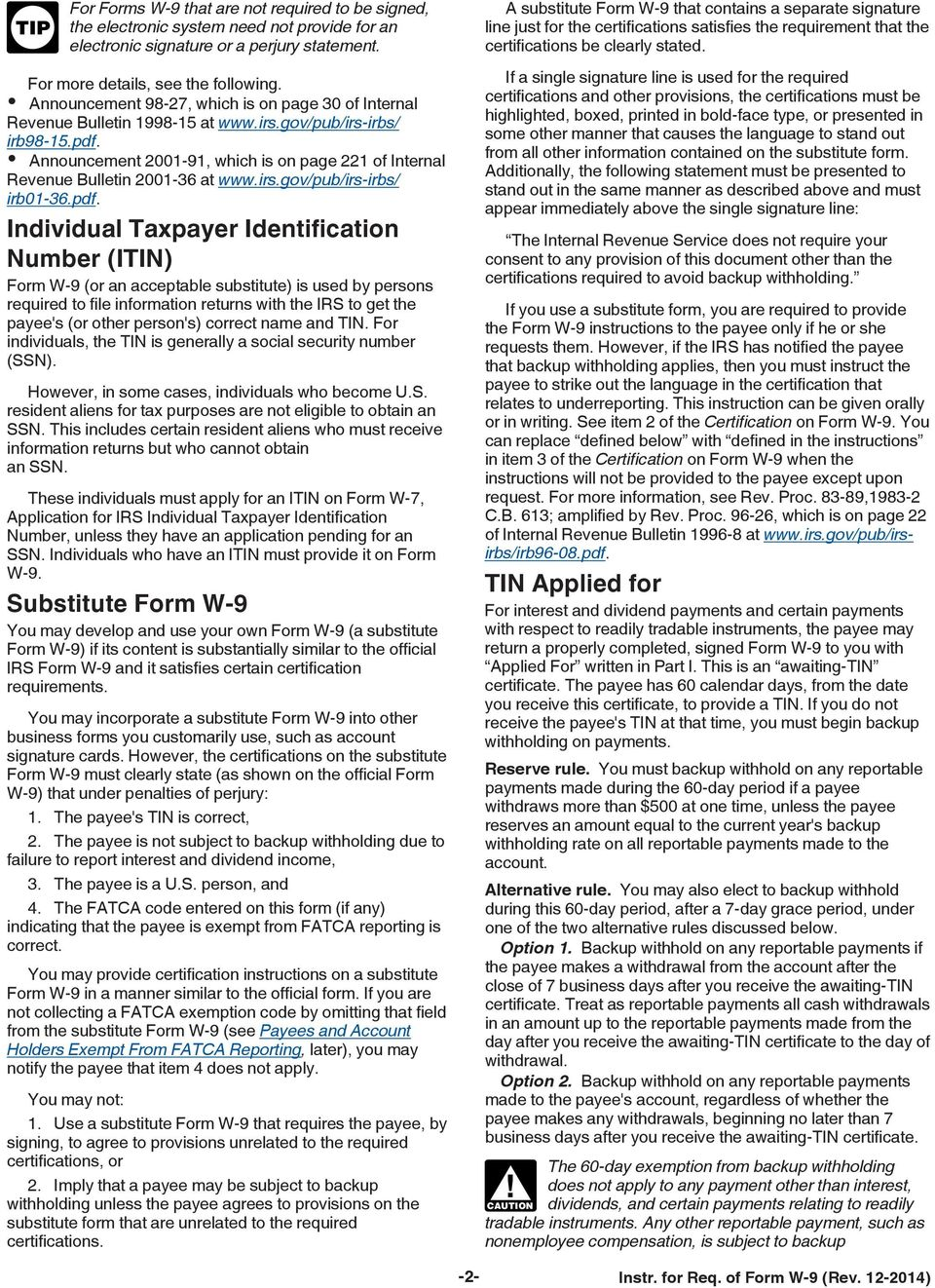 IMPORTANT INFORMATION PLEASE READ BEFORE FILLING OUT FORM - PDF