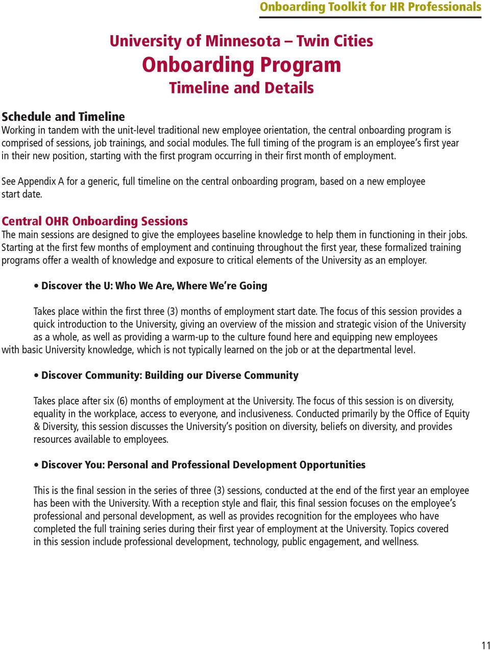 Onboarding Toolkit for HR Professionals Onboarding Toolkit for HR ...