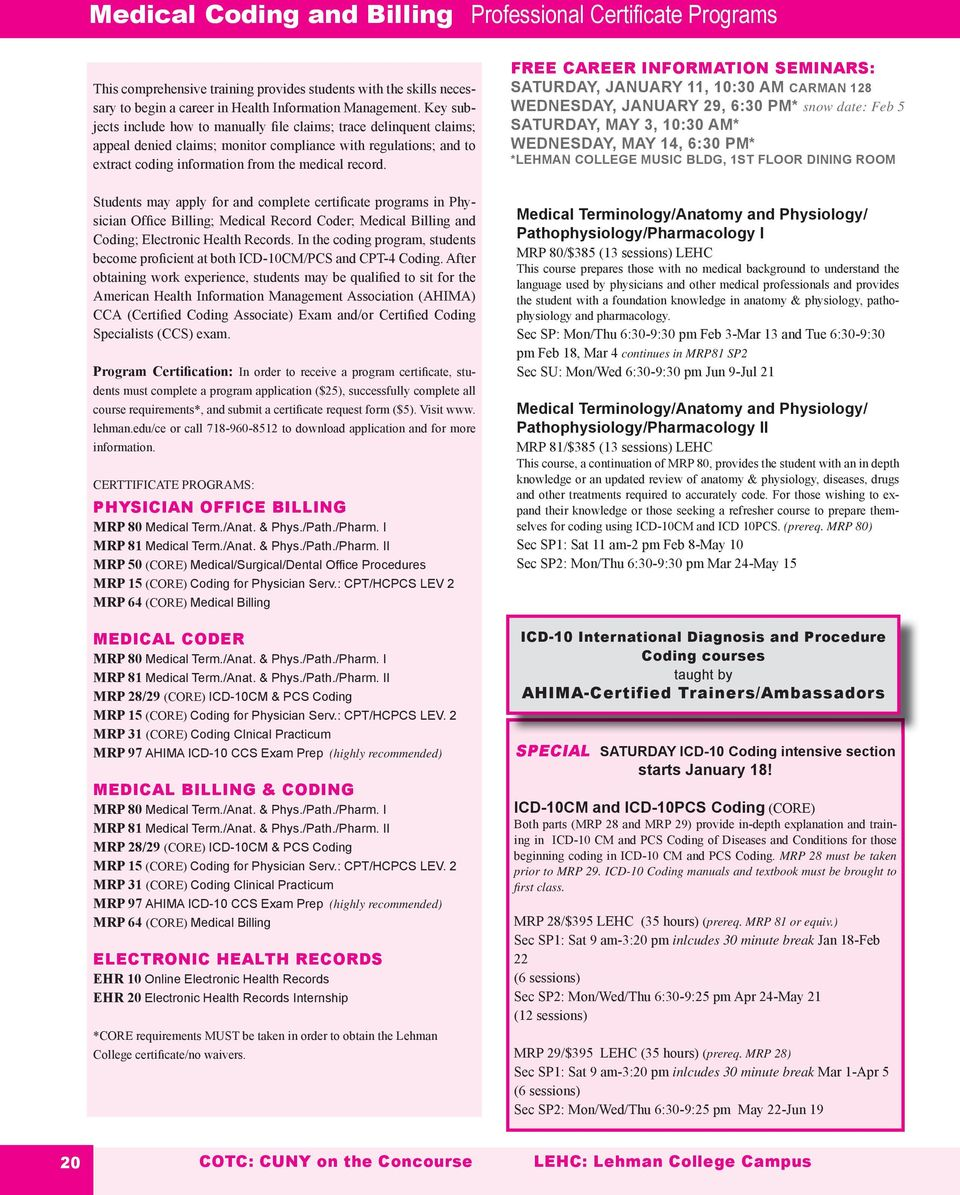 Table Of Contents Tuition Assistance Visit Follow Us Certificate