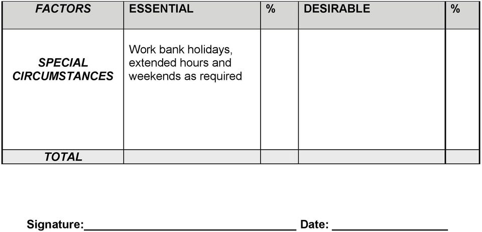 holidays, extended hours and