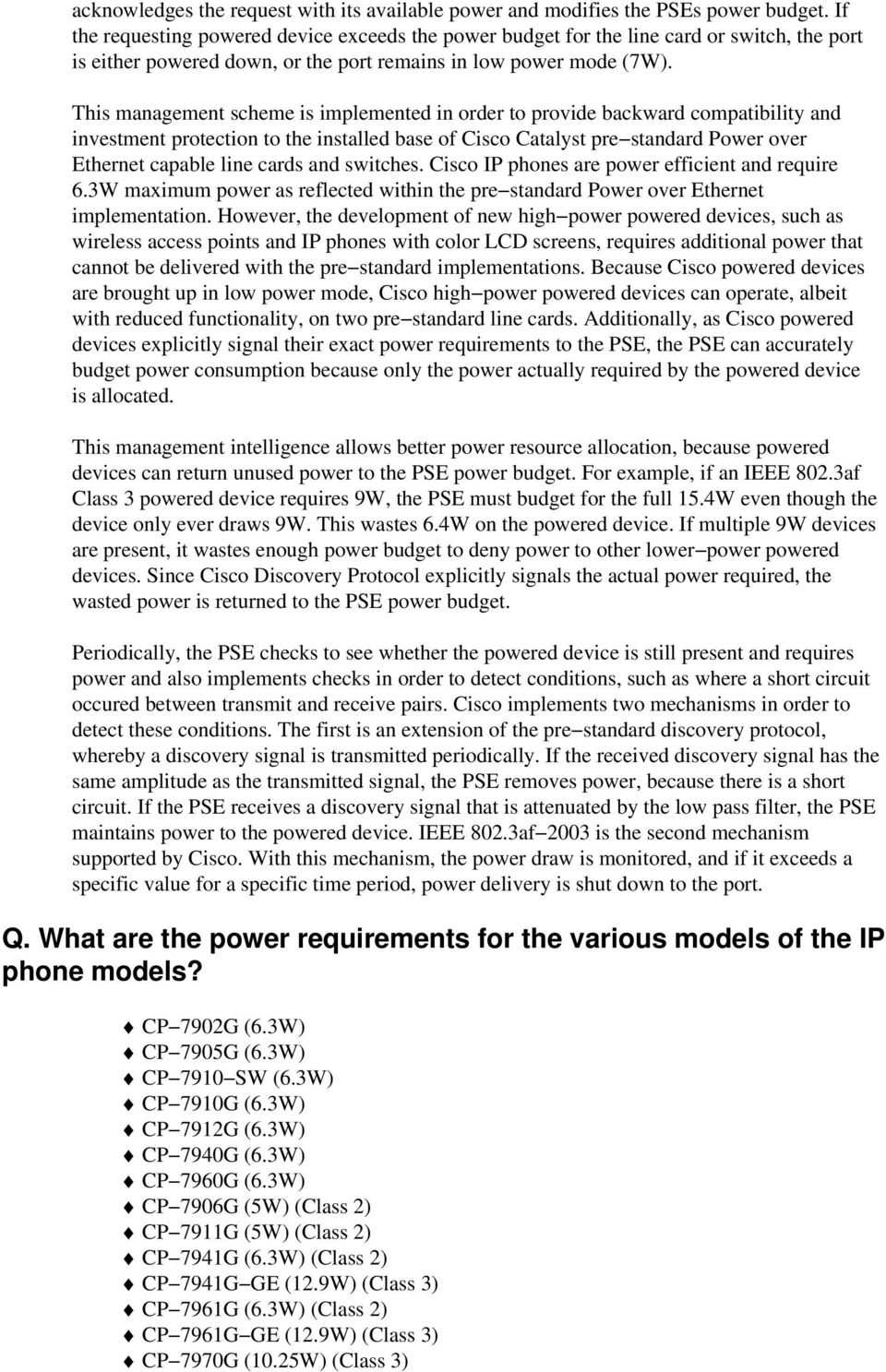 Power Over Ethernet Poe Requirements Faq Pdf Poweroverethernet On Industrialbased Networking Fig 2 This Management Scheme Is Implemented In Order To Provide Backward Compatibility And Investment Protection The