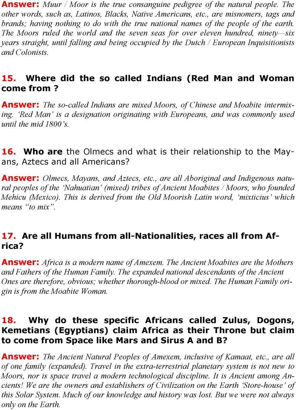 Moors Order of THE Roundtable - PDF