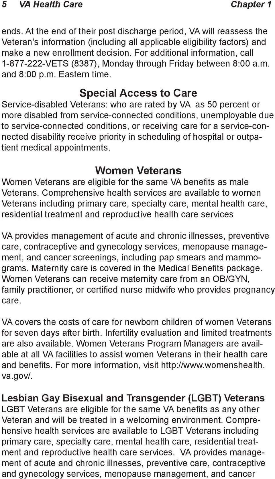 Federal Benefits for Veterans, Dependents and Survivors - PDF