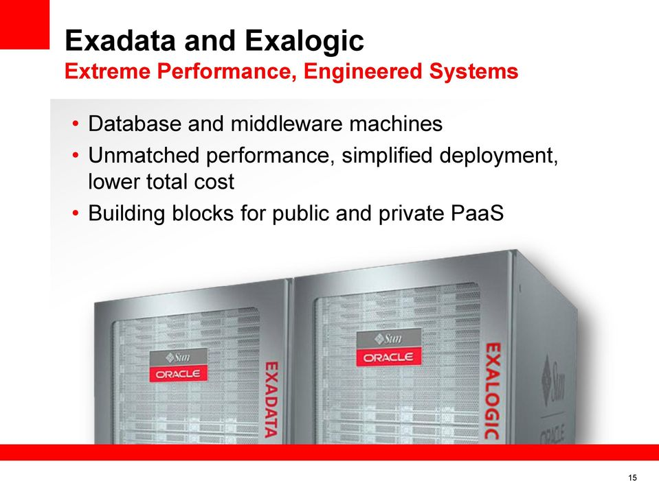 machines Unmatched performance, simplified