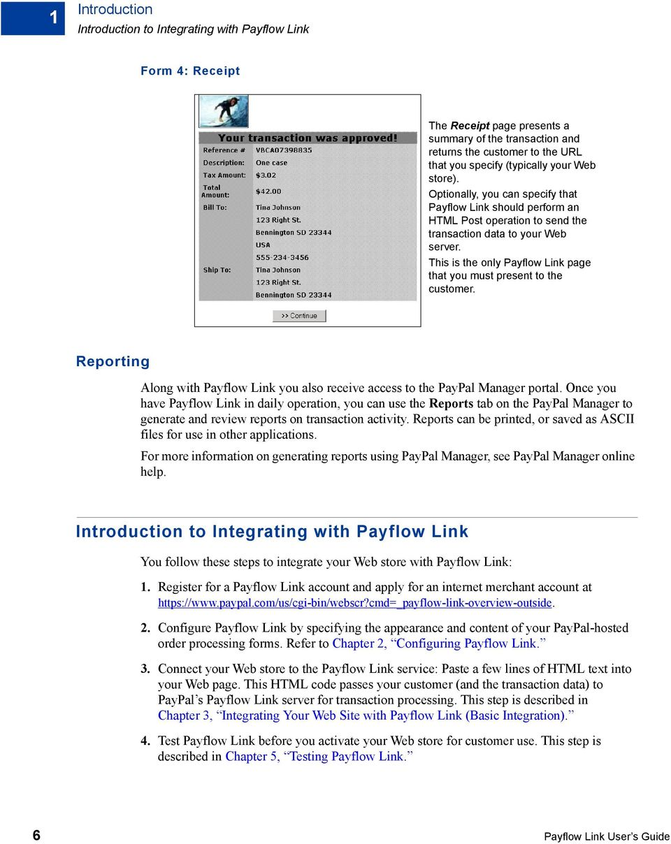 Payflow Link User s Guide - PDF