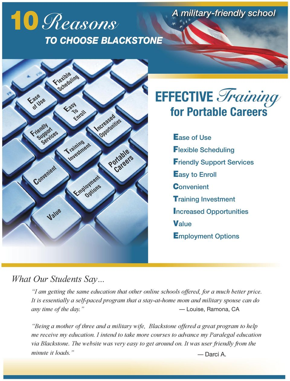 For Military Spouses 4000 Online Training Education Benefits