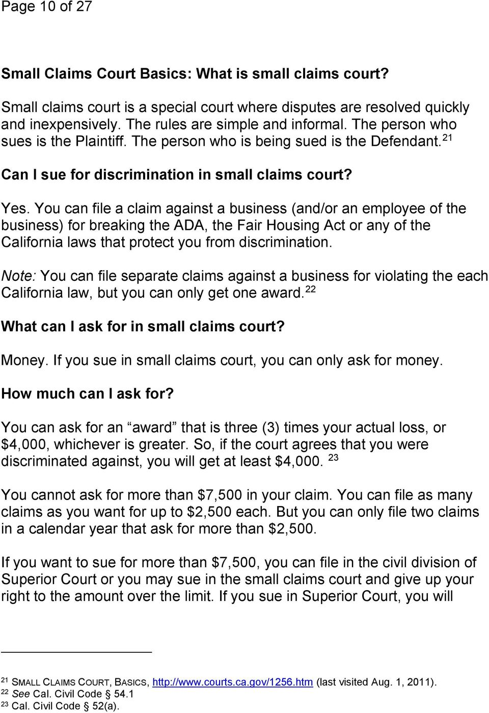 A Guide to Small Claims Court: How to Sue if a Business or