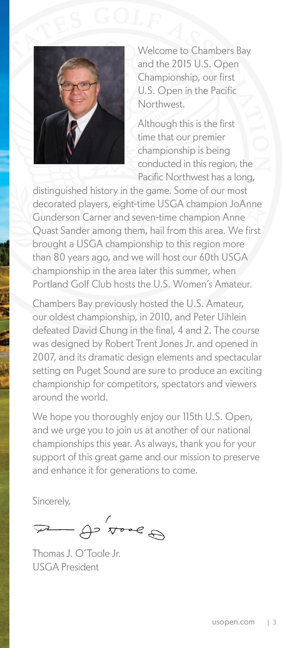 115th Us Open Championship Pdf Sound Source Locator Uses Prechamp Some Of Our Most Decorated Players Eight Time Usga Champion Joanne Gunderson Carner And