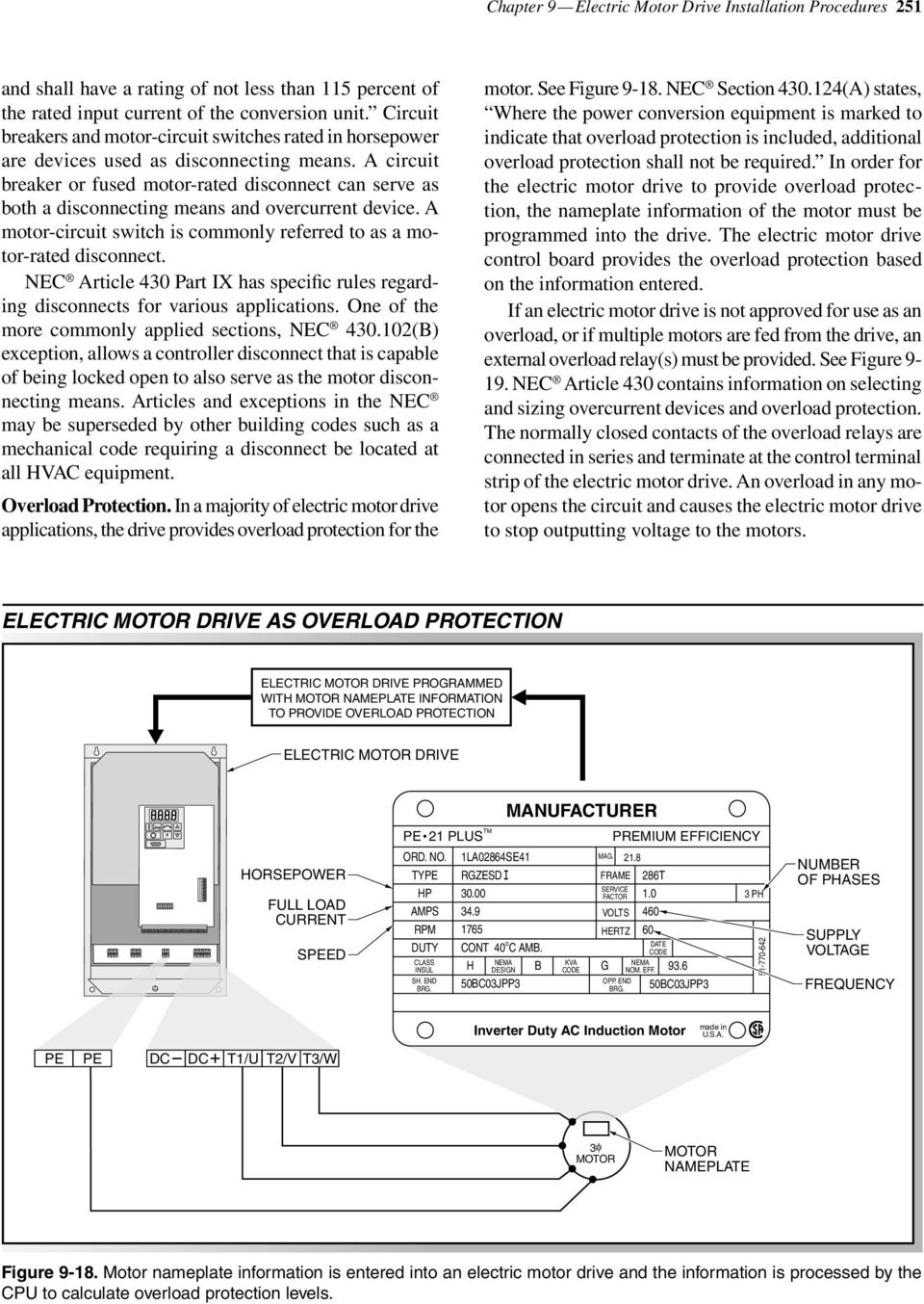 Installation Considerations Pdf Name Platw 480 Motor Wiring Diagram A Circuit Breaker Or Fused Rated Disconnect Can Serve As Both Disconnecting Means