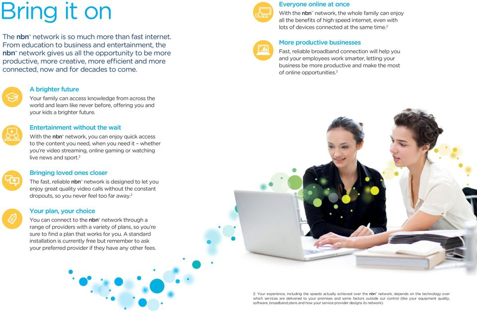 Your nbn connect kit  It s time to connect your landline phone and