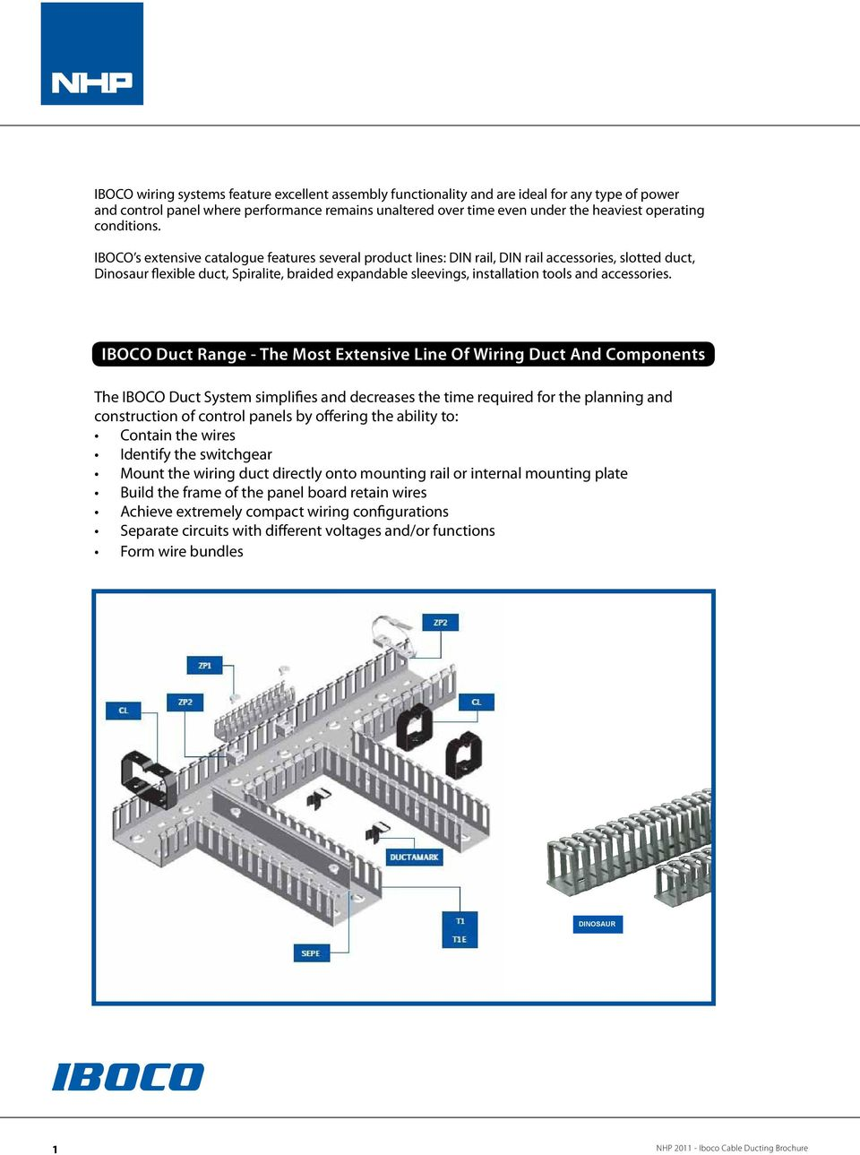 Iboco Cable Ducting An Integrated System Of Wiring Duct And Open Slot S Extensive Catalogue Features Several Product Lines Din Rail Accessories