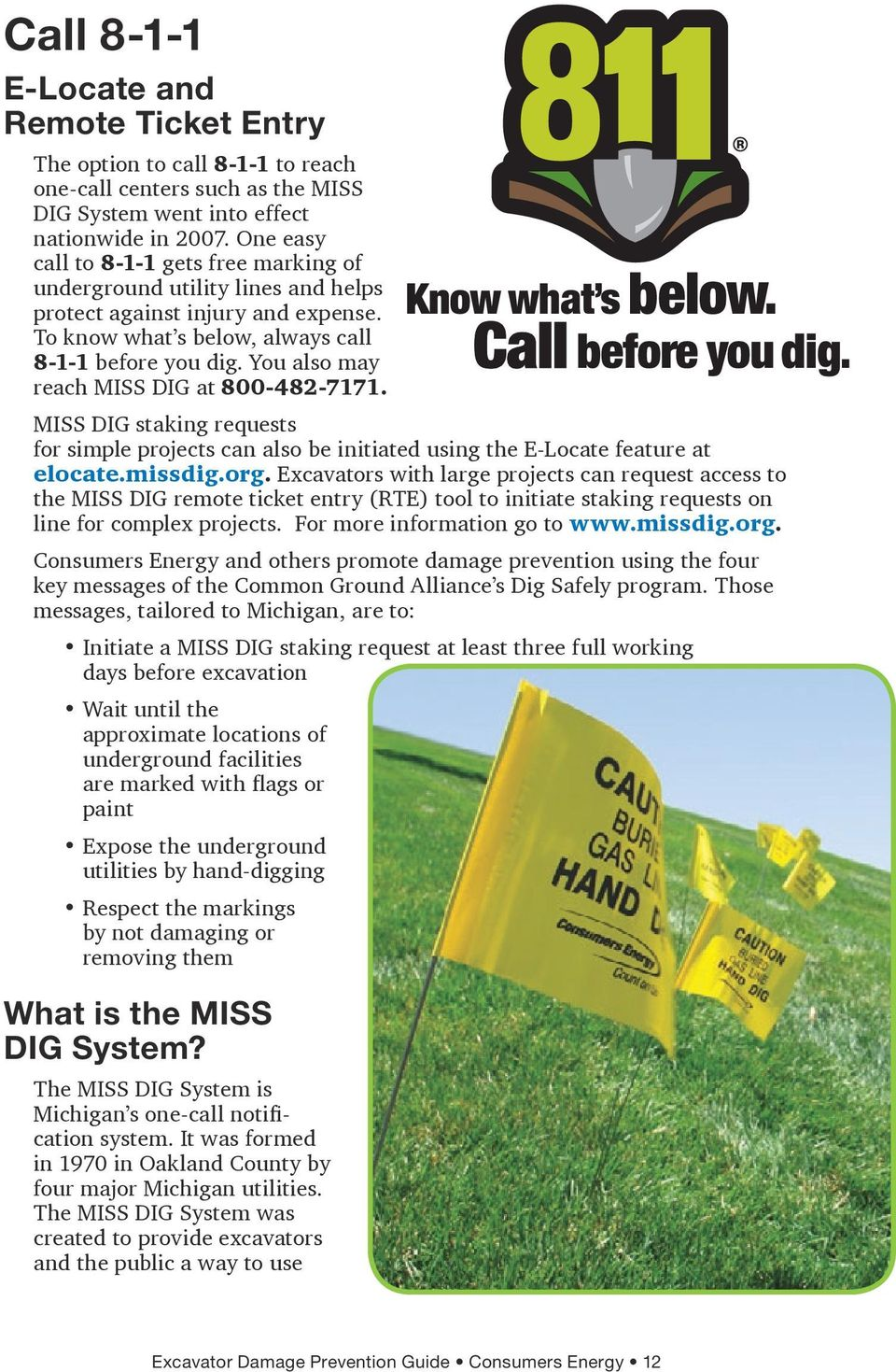 How To Safely Dig Pdf Free Download The state's miss dig system helps prevent accidental strikes of underground pipelines. docplayer net