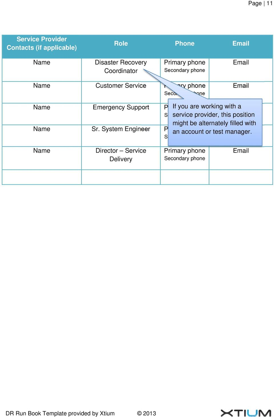 disaster recovery testing template.html