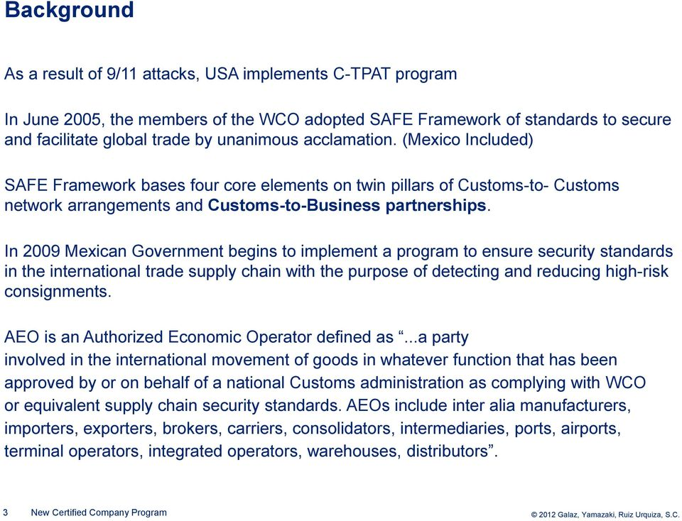 New Certified Company Program (NEEC) Reinforcing Supply Chain