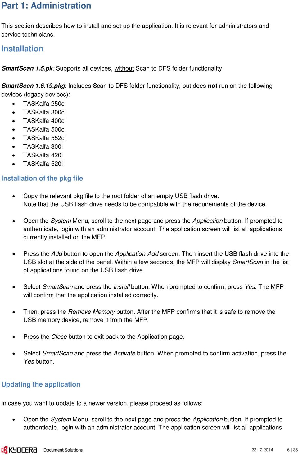 SET UP AND OPERATION GUIDE - PDF