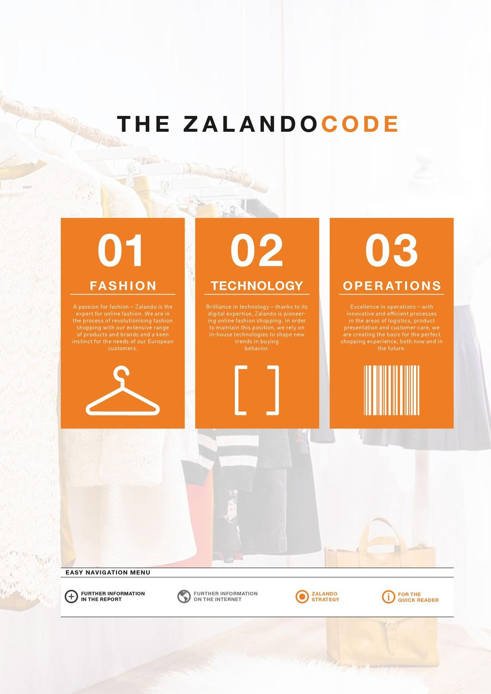 50426cbd 02 TECHNOLOGY Brilliance in technology thanks to its digital expertise,  Zalando is pioneering online fashion