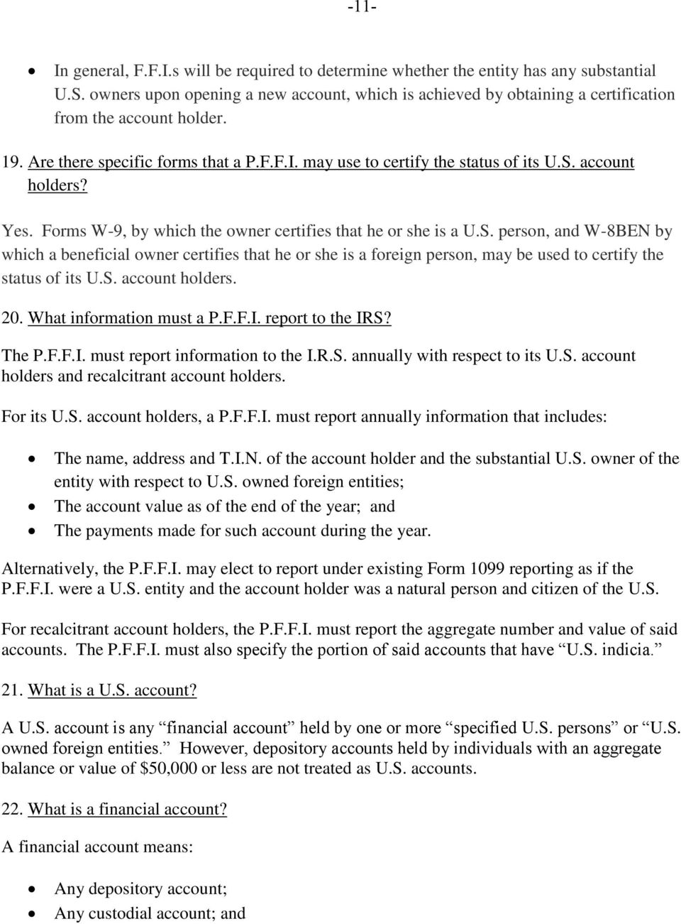 Fatca In A Nutshell Questions And Answers To Tickle The Fancy