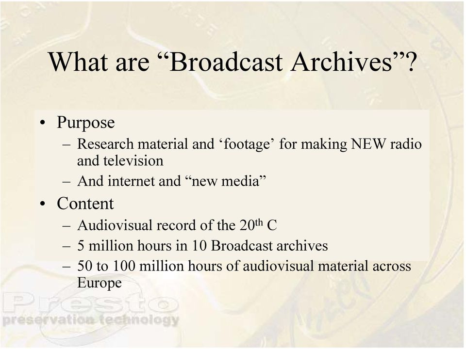 Mpeg archive Adult