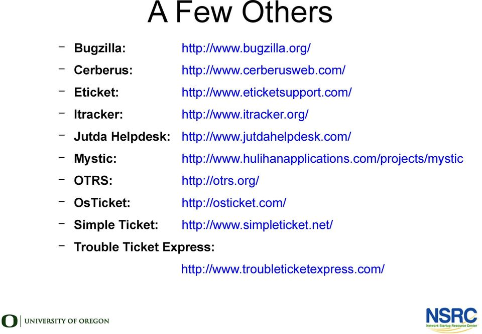 Ticketing Systems with RT - PDF