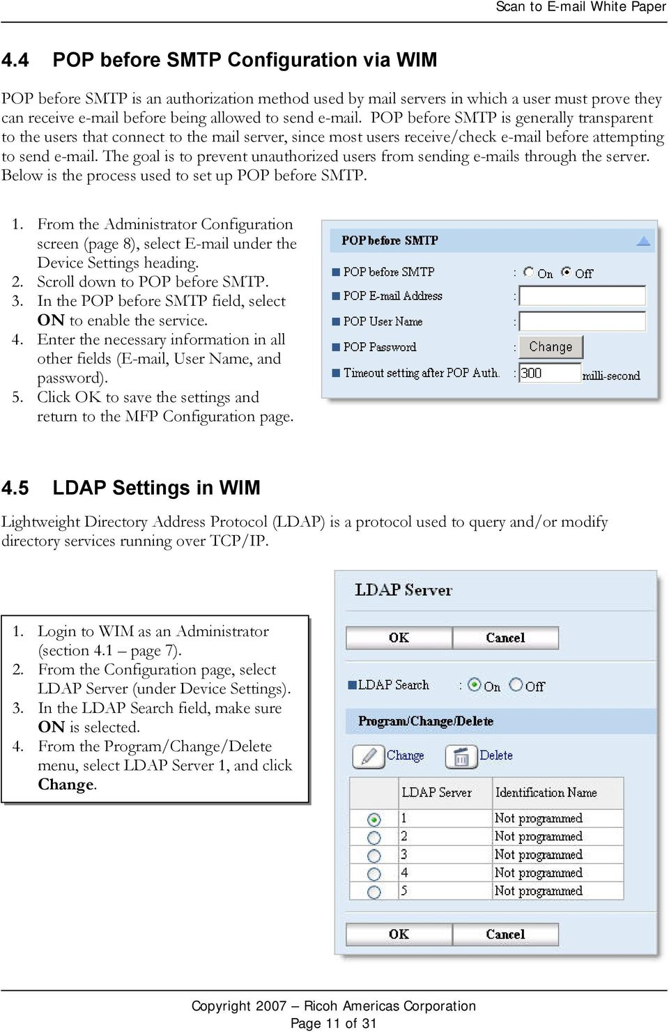 Scan to White Paper Ricoh Americas Corporation May PDF