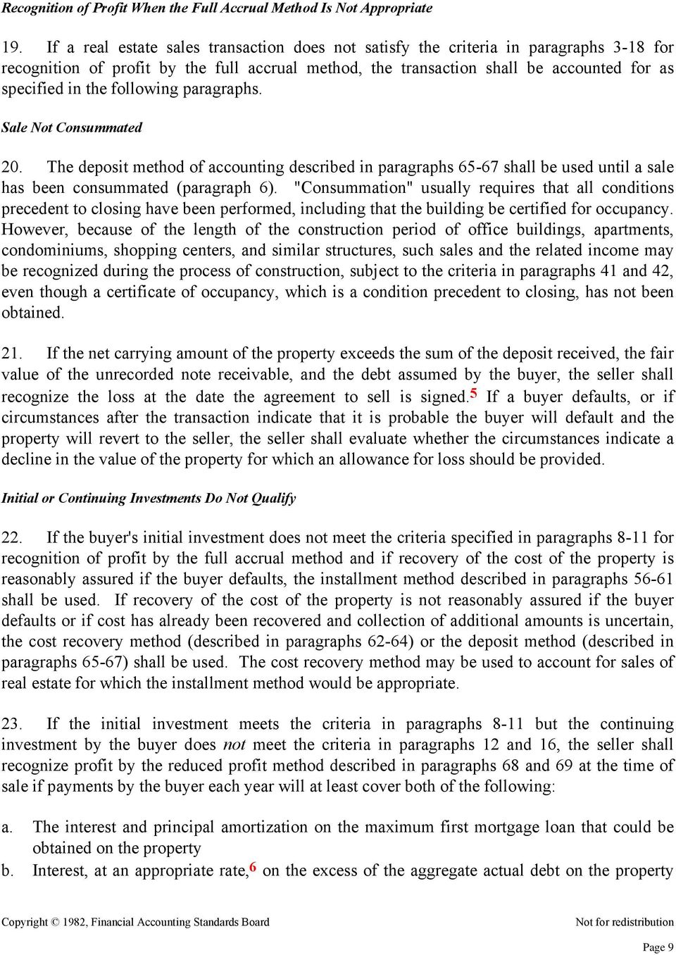 paragraph about accounting