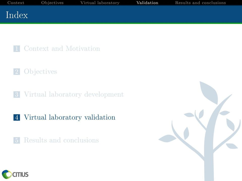 development 4 Virtual laboratory