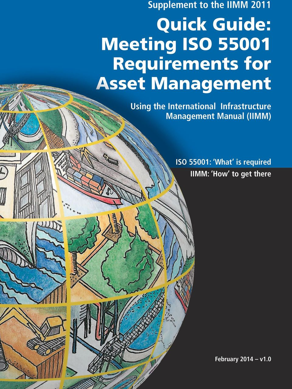 (IIMM) ISO 55001: What is required IIMM: How to get there February. 2  Purchase a copy of the International Infrastructure Management Manual ...