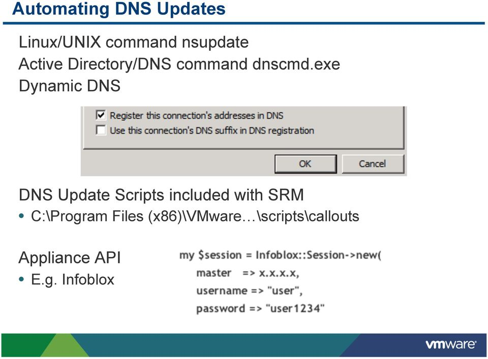 exe Dynamic DNS DNS Update Scripts included with SRM