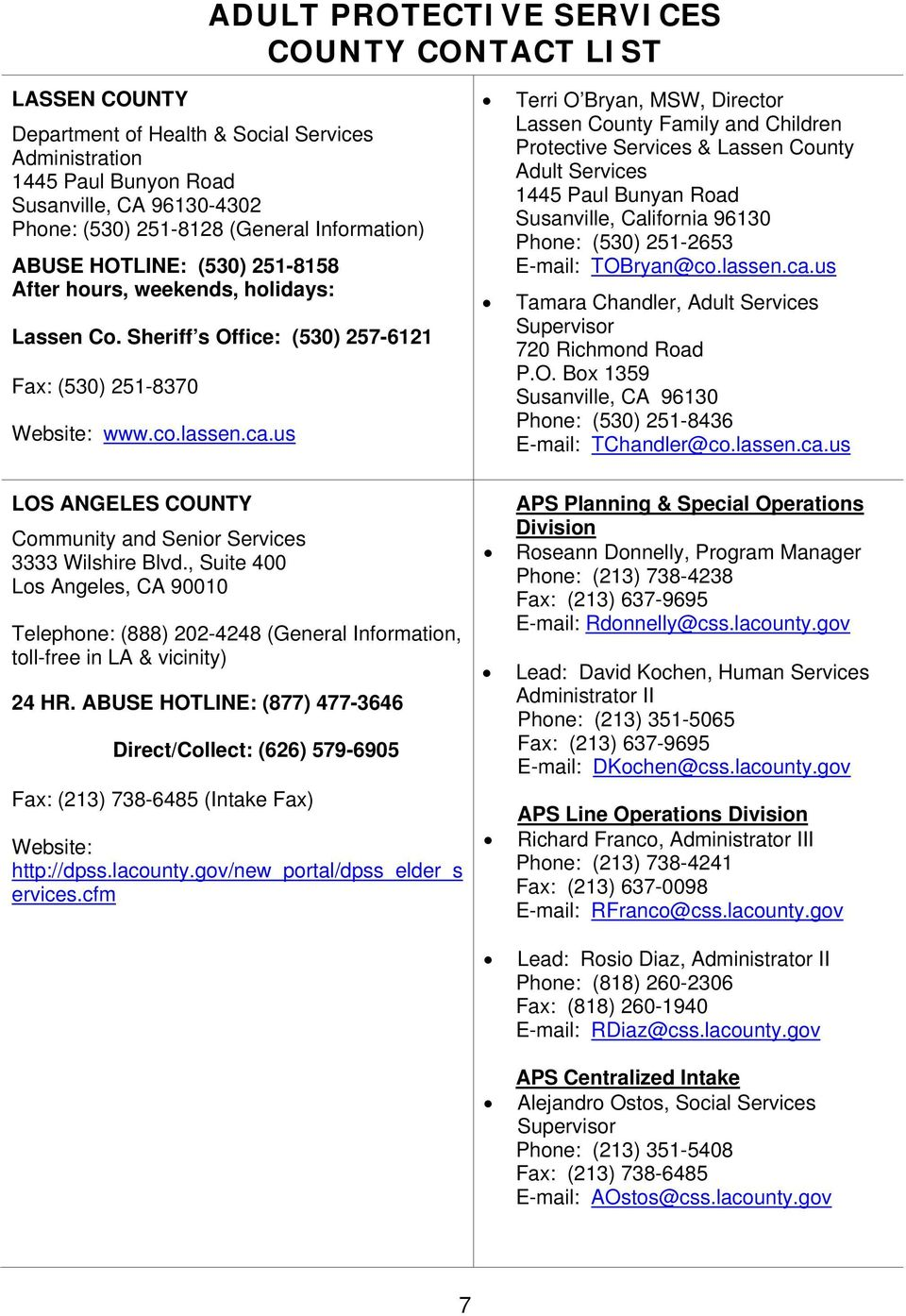 adult california protective services