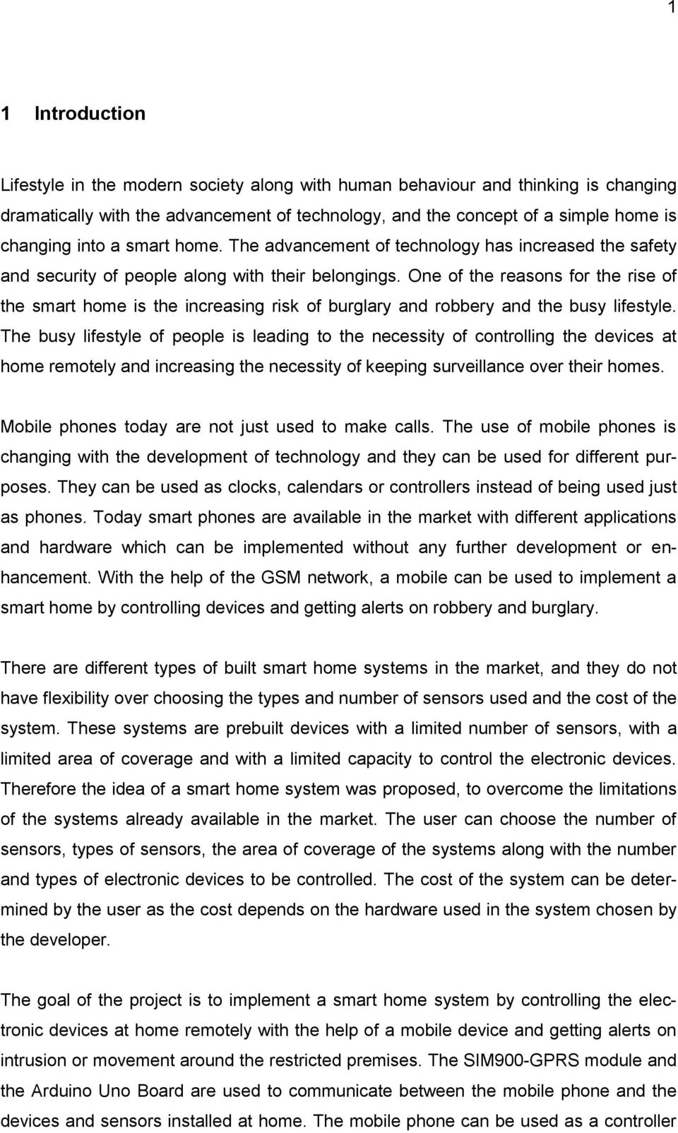Design And Implementation Of A Smart Home System Pdf Ac Fan Speed Control Using Android Mobile Microtronics Technologies One The Reasons For Rise Is Increasing Risk