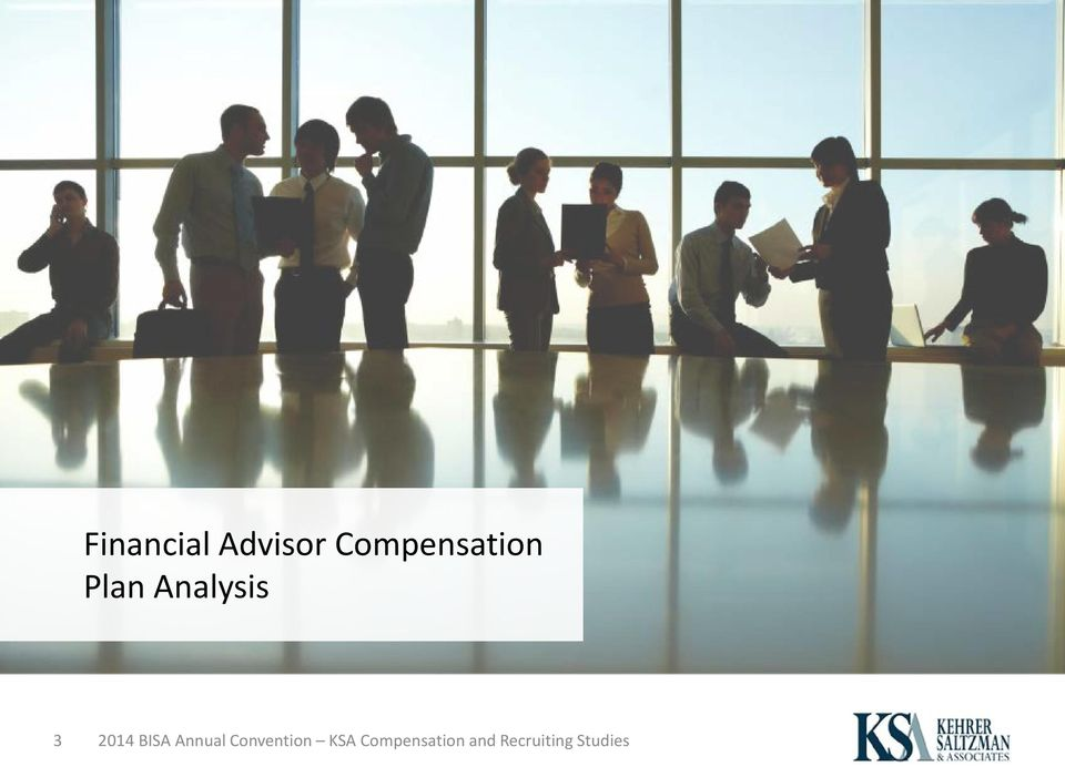 Title: Are We Paying Our Financial Advisors Enough? Speaker
