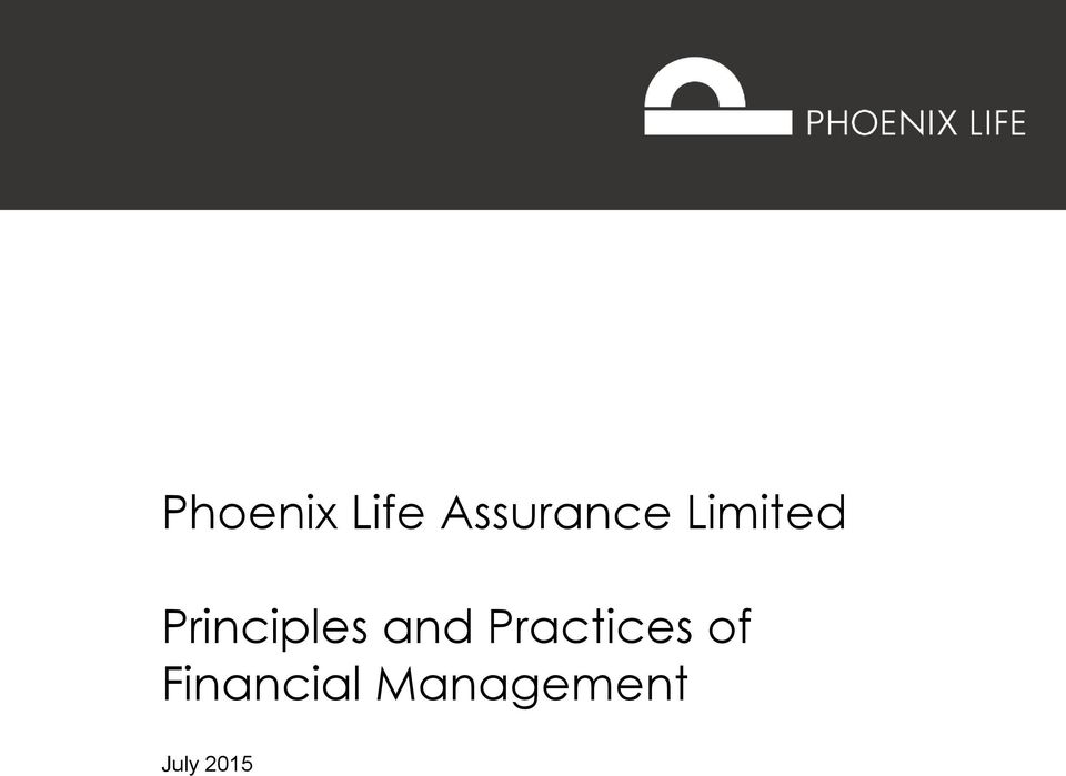 and Practices of Financial