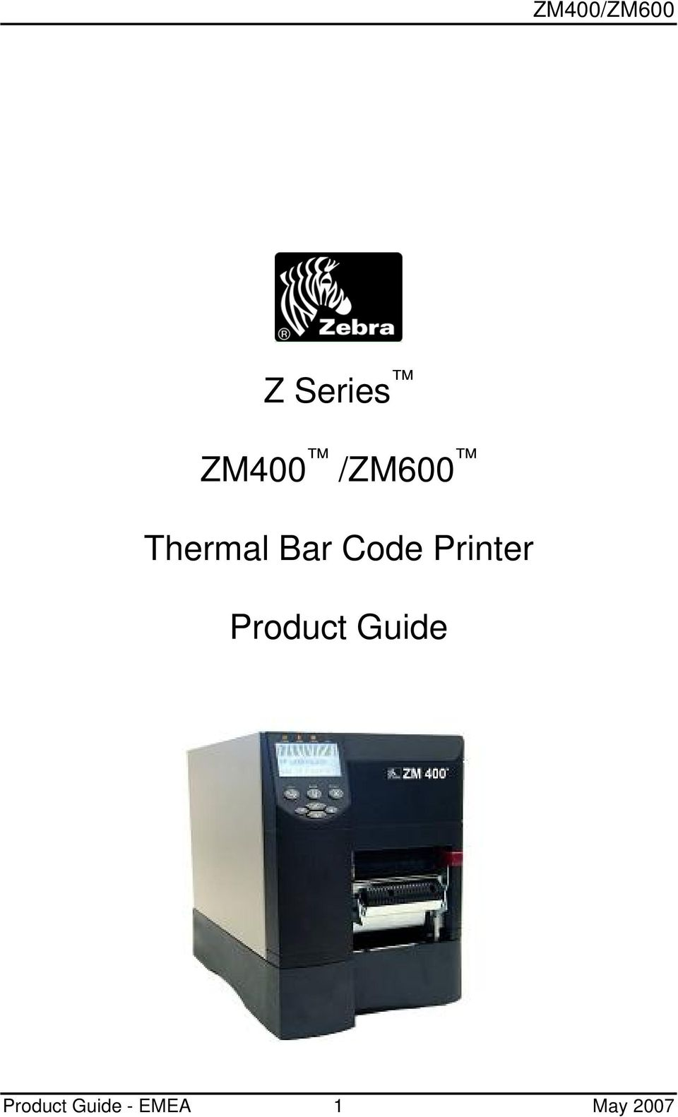 Printer Product Guide