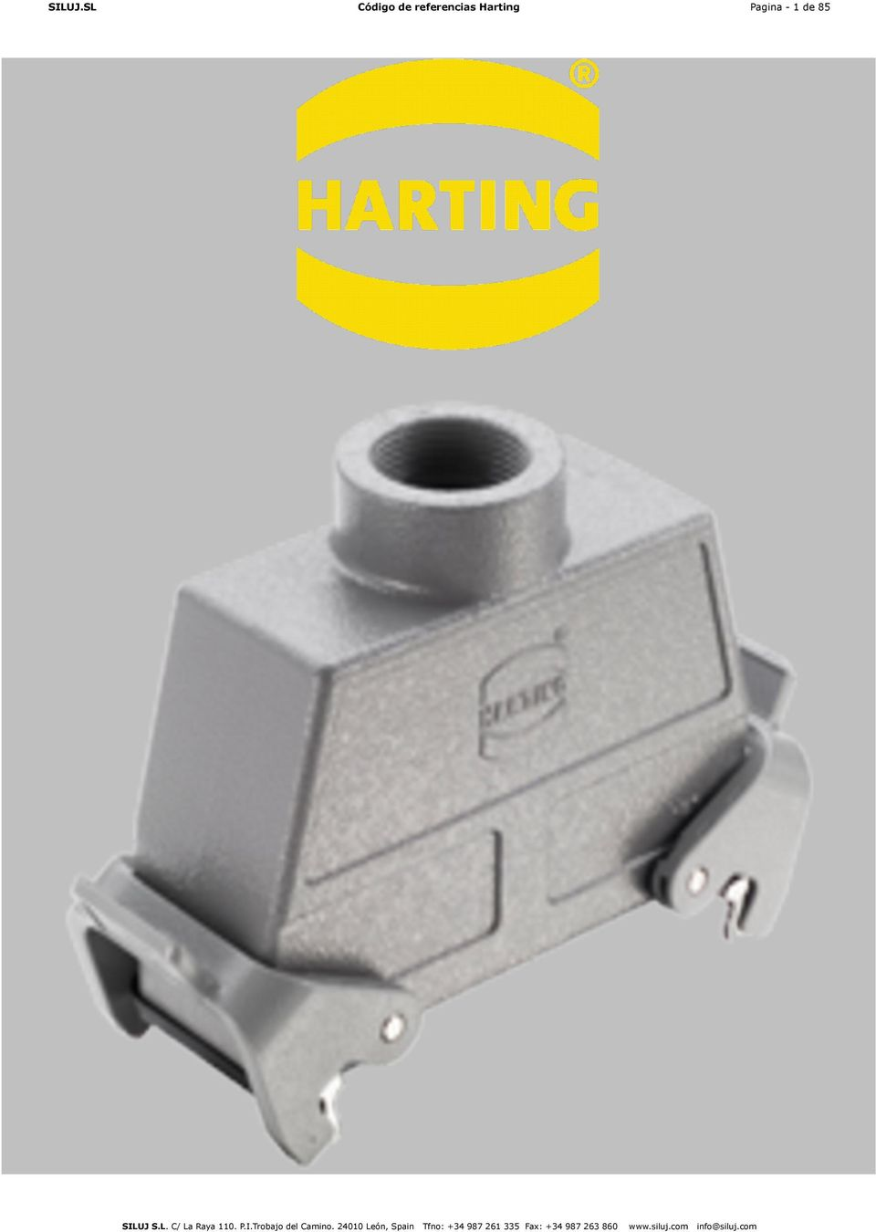 Special Cable clamp PG 36 Acces HARTING 09000005196