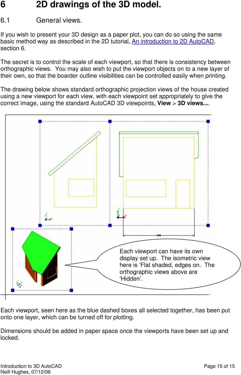 An introduction to 3D draughting & solid modelling using
