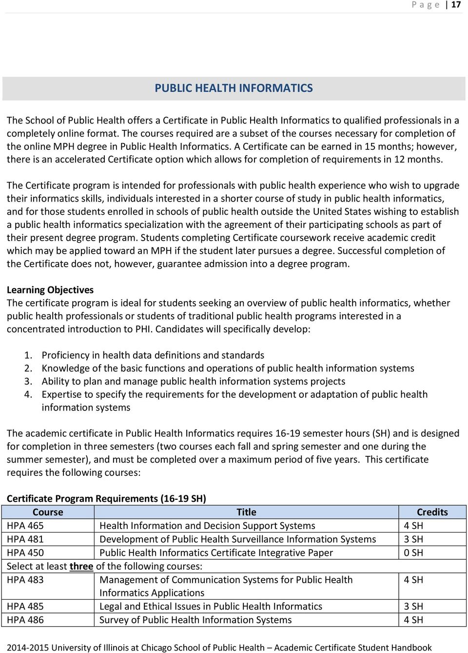 School Of Public Health Pdf